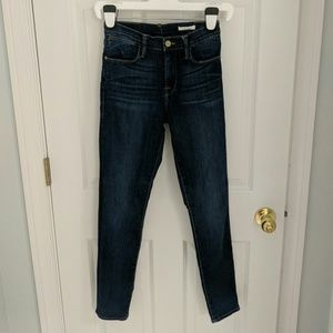 FRAME Le High Skinny High Rise Jeans Valley View